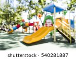 Blur Colorful Playground In...