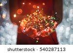female hands holding... | Shutterstock . vector #540287113