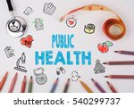 public health concept. healty... | Shutterstock . vector #540299737