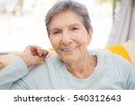 Senior Woman Smiling.