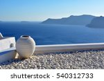 Amphora In Santorini  Greece
