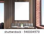 cafe interior with a vertical... | Shutterstock . vector #540334573