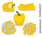 abstract vector illustration... | Shutterstock .eps vector #540336547
