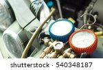 car and air conditioner service ... | Shutterstock . vector #540348187