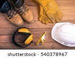 protective equipment use work... | Shutterstock . vector #540378967
