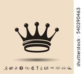 pictograph of crown | Shutterstock .eps vector #540390463
