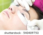 woman on the procedure for... | Shutterstock . vector #540409753