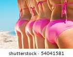 side view of young girls bottom ... | Shutterstock . vector #54041581