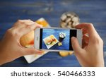 female hands taking photo of... | Shutterstock . vector #540466333