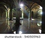 Interior Of Underground...