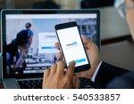 chiang mai  thailand dec 21... | Shutterstock . vector #540533857