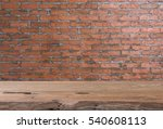 teak wood table top with grunge ... | Shutterstock . vector #540608113