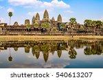 angkor wat is a temple complex... | Shutterstock . vector #540613207
