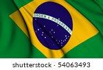brazil flag | Shutterstock . vector #54063493