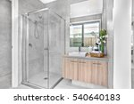 luxury bathroom closeup with... | Shutterstock . vector #540640183
