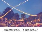 vintage tone blur image of... | Shutterstock . vector #540642667