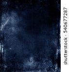 Dark Fabric Grunge Texture...