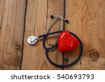 a heart with a medical
