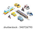 public transportation. traffic... | Shutterstock . vector #540726793