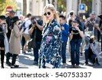 paris october 5  2016. famous... | Shutterstock . vector #540753337