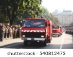 old fire car. blurred bokeh... | Shutterstock . vector #540812473