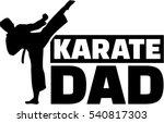 karate dad | Shutterstock .eps vector #540817303