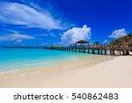 Cancun Blue Ocean Beach In A...