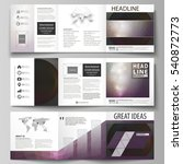 set of business templates for... | Shutterstock .eps vector #540872773