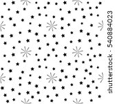 star seamless pattern. fashion... | Shutterstock .eps vector #540884023