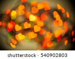 abstract colorful hearts  love  ... | Shutterstock . vector #540902803