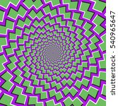 optical motion illusion... | Shutterstock .eps vector #540965647