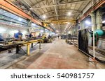 workshop on production of... | Shutterstock . vector #540981757