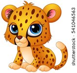 Vector Illustration Of Cute...