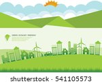 ecology connection  concept... | Shutterstock .eps vector #541105573