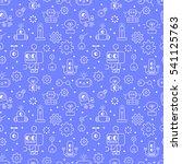 robotic technology outline... | Shutterstock .eps vector #541125763