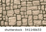 seamless brown stone wall... | Shutterstock .eps vector #541148653