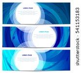 set of eco banners...   Shutterstock . vector #541153183