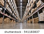 it is a warehouse of a large... | Shutterstock . vector #541183837