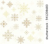 winter seamless pattern with
