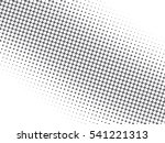 abstract dotted black and white ...   Shutterstock . vector #541221313