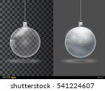 template of glass transparent... | Shutterstock .eps vector #541224607
