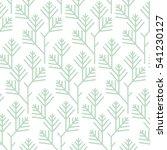 seamless floral geometric... | Shutterstock .eps vector #541230127
