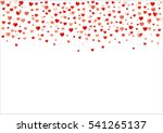 colorful background with heart... | Shutterstock .eps vector #541265137
