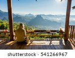 view point in the noodle shop... | Shutterstock . vector #541266967