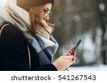 portrait beautiful girl in... | Shutterstock . vector #541267543