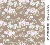 simple cute pattern in small...   Shutterstock . vector #541292707