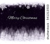 christmas card | Shutterstock . vector #541313503
