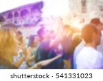 people having fun at music... | Shutterstock . vector #541331023