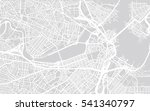 urban city map of boston  usa | Shutterstock .eps vector #541340797
