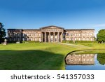 the front of the classical... | Shutterstock . vector #541357033